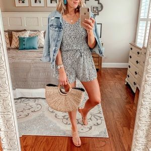 Other - Never Worn spotted romper